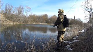Открываю сезон на спиннинг 2020. Рыбалка 1 марта.