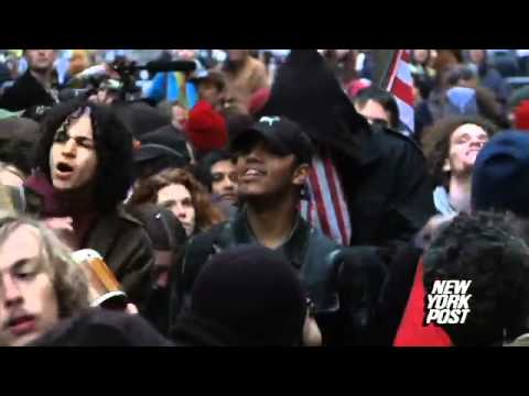 OWS protesters cause mayhem across the city, 177 arrested -
