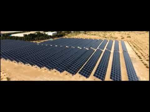 1MW Solar Energy Project in UAE / Bravo Solar Energy Company