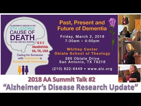 SAT Alzheimer's Summit   AD Research Update {2018}