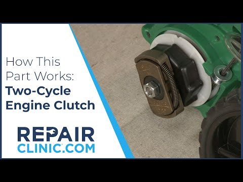 Two-Cycle Engine Clutch Replacement