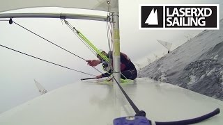 Laser Sailing - Downwind Ride Along with US Olympian Rob Crane Pt1 [HD]