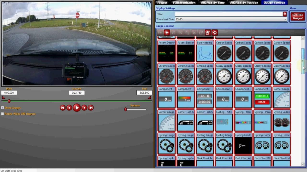 Plex SDM-500 GPS Data log overlay on video with DashWare Part 2 (Overlay  data on video)