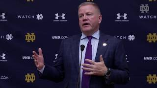 @NDFootball Brian Kelly Press Conference - Stanford (2017) thumbnail