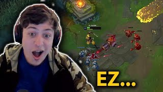 HOW BEST ZED NA DODGE EZREAL ULT|TYLER LOSES HIS MIND|CHOVY INSANE 1V2 - TOP LoL Series #23