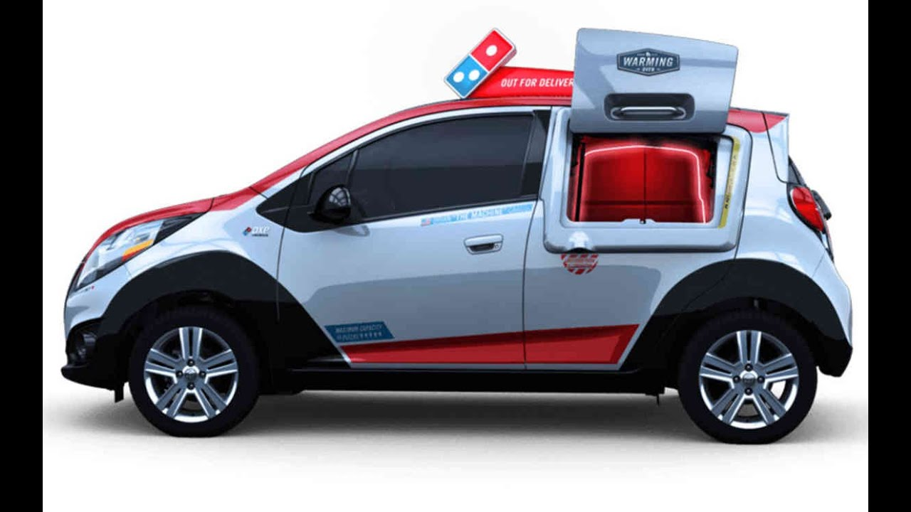 dominos have built pizza delivery car with own oven video youtube. Black Bedroom Furniture Sets. Home Design Ideas