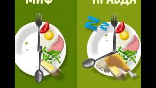 Мифы и правда о диетах и продуктах
