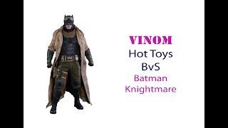 Фигурка Hot Toys MMS 372 - BvS - Batman Knightmare 1/6
