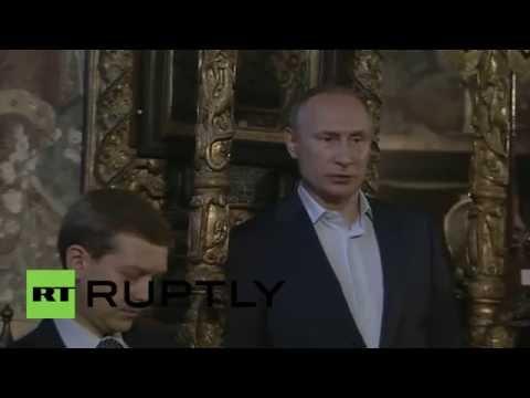 Greece: Putin visits Mount Athos Orthodox monastic community
