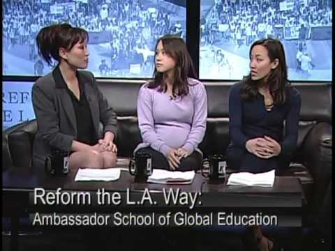 Monica Garcia in Reform the L.A. Way: Ambassador School of Global Education