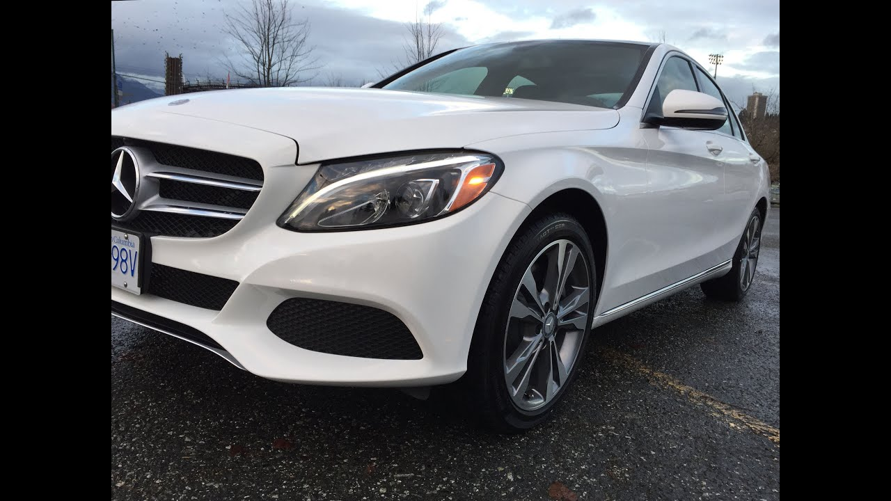 Redesigned 2016 Mercedes Benz C300 4matic Delivery Day