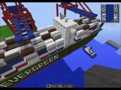Minecraft Seaport