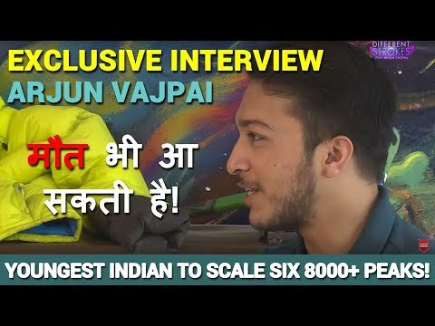 ARJUN VAJPAI   Youngest Indian Mountaineer to climb Mount Everest   INTERVIEW   Web Series   S1E4