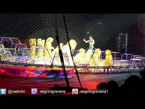Lions and Tigers! | Chicago Ringling Brothers Circus