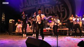 Janelle Monae performs Tightrope live at Glastonbury 2011