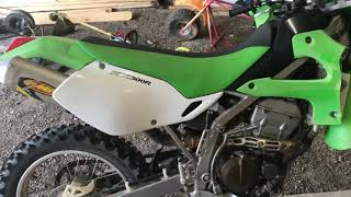 Kawasaki klx 300r review and start up