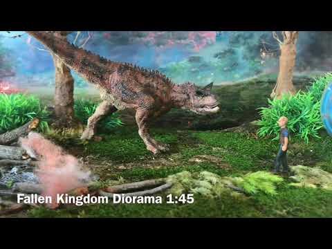 Jurassic World: Fallen Kingdom Diorama