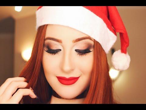 Maquiagem Especial de NATAL! ❤️🎅🏼