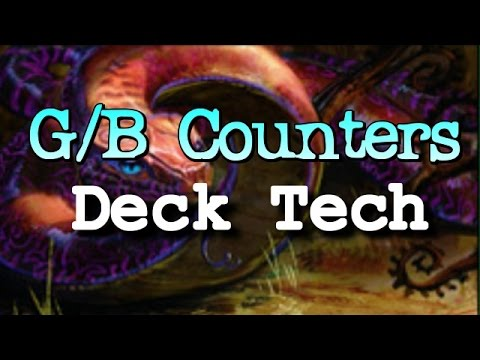 Mtg Deck Tech: G/B Counters in Aether Revolt Standard!