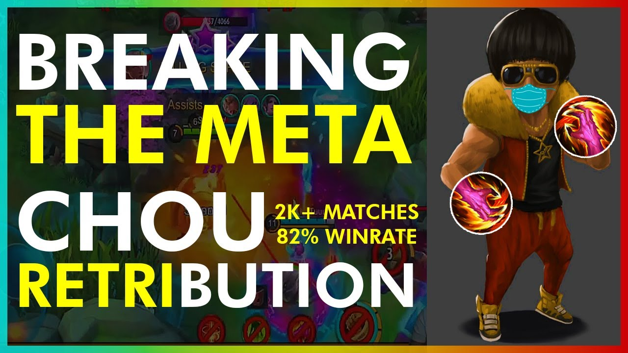 HOW TO BREAK THE META: CHOU RETRI SPELL! GET UNSTOPPABLE WINSTREAK | MLBB RANK