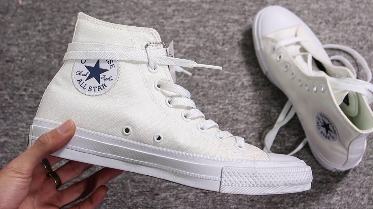 c2ae9527ff482d Hướng dẫn buộc dây giày Converse cao cổ vừa đẹp vừa tiện - YouTube