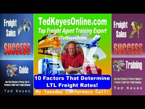 [TKO] ♦ These Factors Determine LTL Freight Rates!  ♦ TedKeyesOnline.com