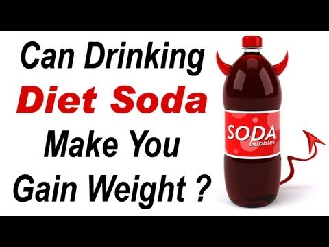 Can Drinking Diet Soda Make You Gain Weight?
