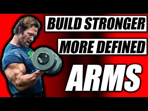 Build Stronger more Defined Arms | Stanford Strength Coach & The Titan