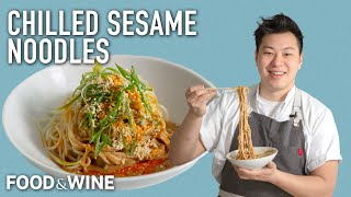 Lucas Sin's Chilled Sesame Noodles Are Your Go-To Summer Dish | Chefs At Home