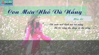 Video Cơn Mưa Nhỏ Và Nắng - Miu Lê || [[ Video Lyric + Kara ] download MP3, 3GP, MP4, WEBM, AVI, FLV November 2017