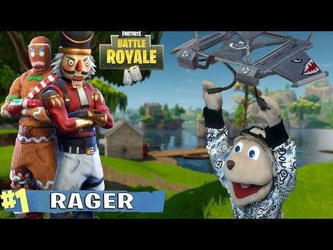 TAKING ON GINGY & THE NUTCRACKER | FortNite Gameplay Funny Moments