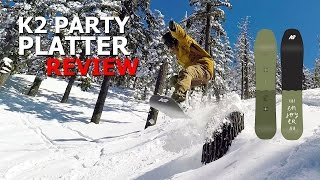 K2 Party Platter Snowboard Review
