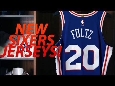 PHILADELPHIA 76ERS NEW UNIFORM REVEAL! | PHILA SIXERS JERSEYS