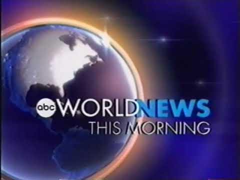 ABC News (USA) World News This Morning Intro Jan. 1, 2004