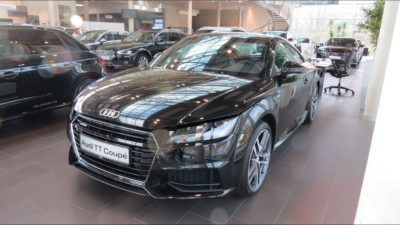 2015 audi tt coupe s line sport 2 0 tfsi quattro youtube. Black Bedroom Furniture Sets. Home Design Ideas