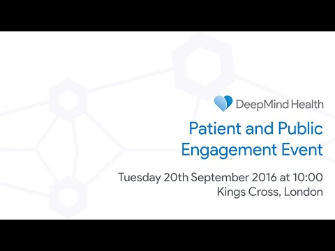 DeepMind Health - Patient and Public Engagement Event