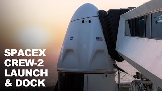 WATCH SpaceX Crew 2 Launch | With Reused Falcon 9's First Stage and the Dragon Spacecraft