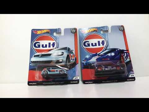 Hot Wheels Gulf Car Culture Collection