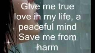 A Prayer - Anggun (with lyrics)