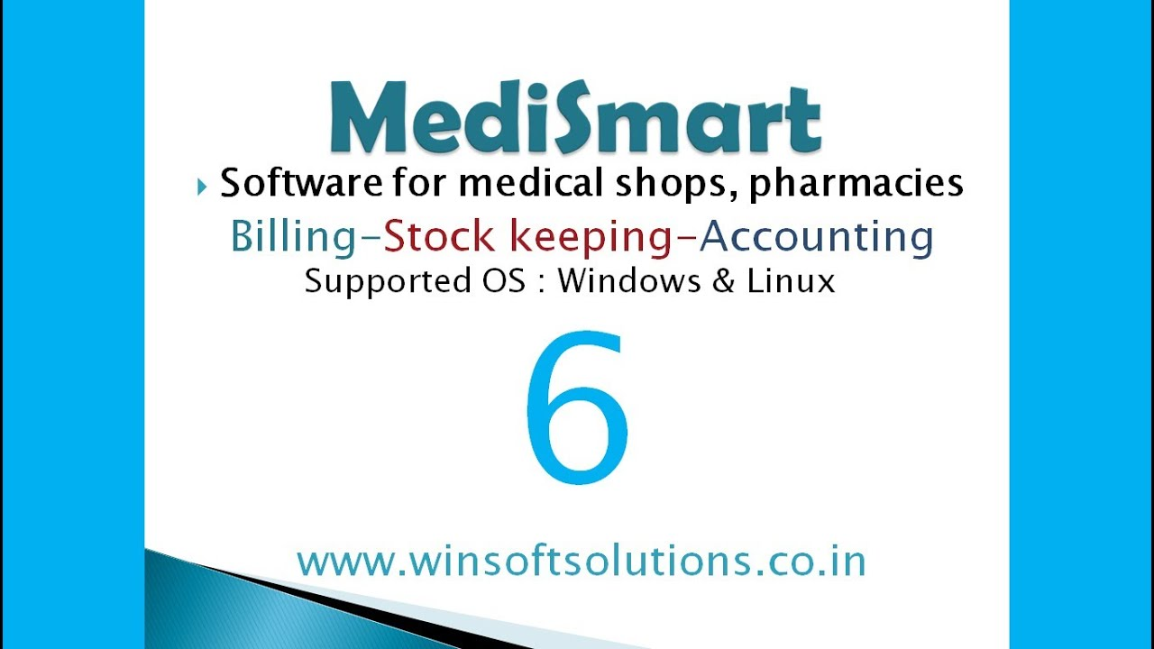 Pharmacy Software Medical Store Billing Software Purchase Invoice - Linux invoice software