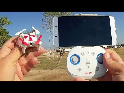 Cheerson CX-OF Dancing Position Hold FPV Camera Drone Flight Test Review