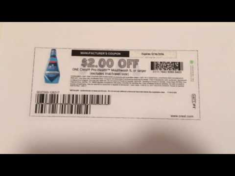 PRINT THIS $2 Crest Coupon, NOW!!!!!!