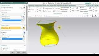 tutorial in nx 10 part 8 how to design glass in nx