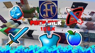 Minecraft PE 1.0.2 Texture Pack Ios & android (Huahwi blue edit 64x64)