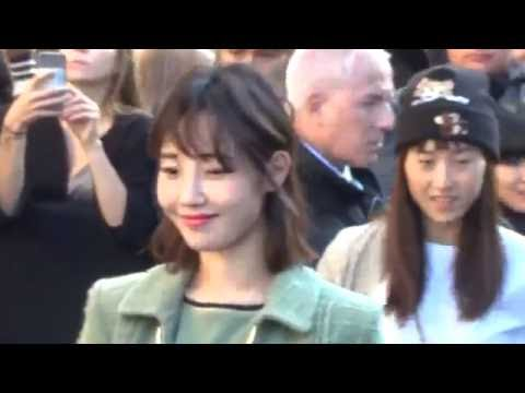 Bai Baihe 白百何 @ Paris Fashion Week 4 october 2016 show Chanel