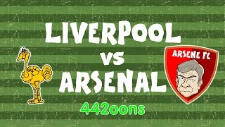 LIVERPOOL vs ARSENAL SO FAR on 442oons (Preview 2017 with Wenger, Klopp, 4-1 and 3-4)