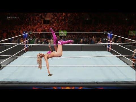 WWE 2K18 - 8 Women // Blondes in Bikinies // Battle Royal