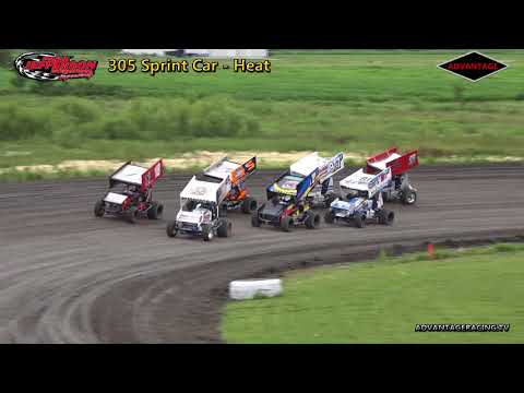 Sport Compact/305 Sprint Heats - Park Jefferson Speedway - 6/30/18