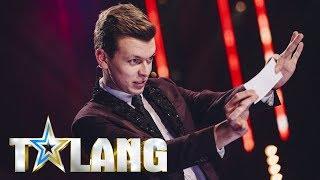 Douglas häpnar med sin magi i Talang 2018 - Talang (TV4)