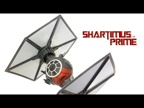 Star Wars TIE Fighter Elite Black Series 6 Inch 1:12 Scale The Force Awakens Vehicle Figure Review